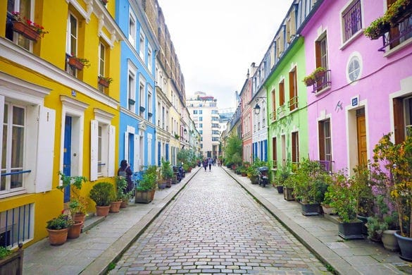 Rue Cremieux, Paris, France on Most Beautiful Streets In Europe