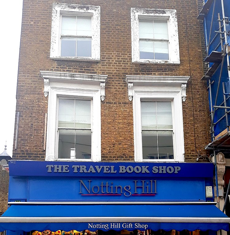 Famous Film Places In Europe Notting Hill, London, UK