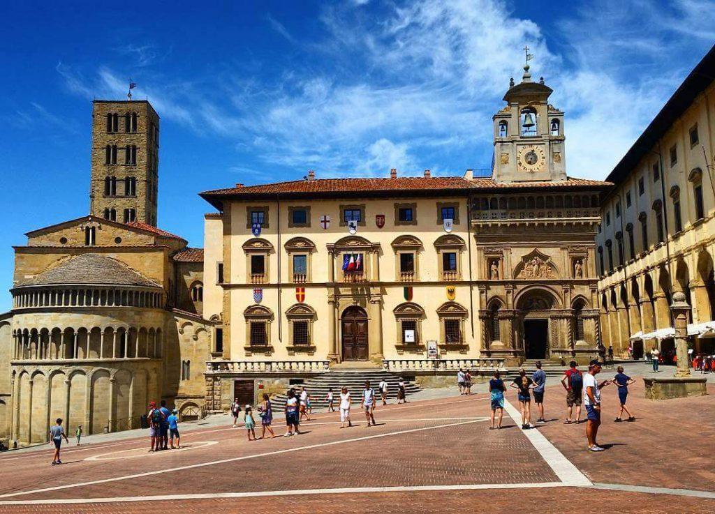 Famous Film Spots in Europe La Vita e bella, Arezzo, Italy