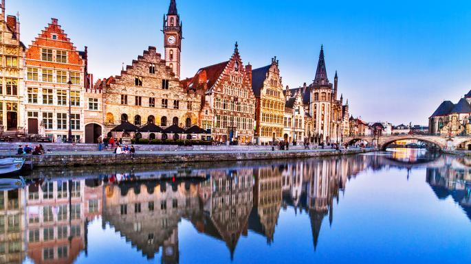 Beutiful Ghent Belgium