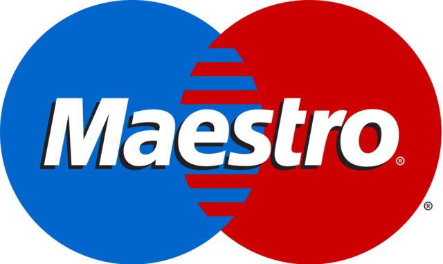 maestro payment for train tickets on Saveatrain.com
