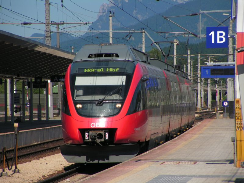 Austria train image