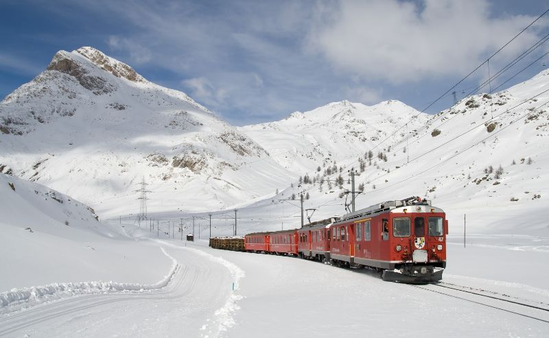 Switzerland train image